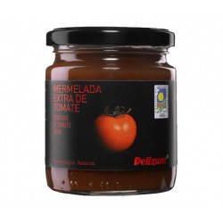 DELIZUM Organic Tomato Jam Jar with 270 net grams