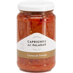 CAPRICHOS del PALADAR Tomato Cream Jar with 350 net grams - Conservalia