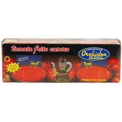 LA ORQUIDEA Fried Tomato 3 Tins Pack with 630 net grams (3 x 210 g) - Conservalia