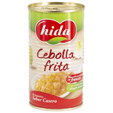 HIDA Fried Onion Tray with 15 Cans of 340 net grams - Conservalia