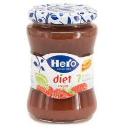 HERO Diet Strawberry Jam Tray with 8 Jars of 345 net grams
