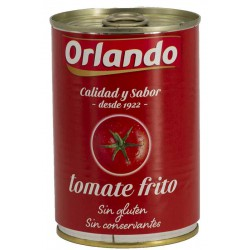 ORLANDO Fried Tomatoes Tray with 12 Cans of 400 net grams - Conservalia