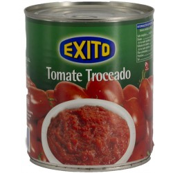 EXITO Chopped Tomatoes Tray with 12 Cans of 780 net grams - Conservalia