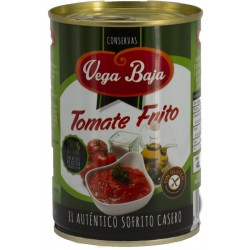 VEGA BAJA Fried Tomato Tray with 12 Cans of 420 net grams