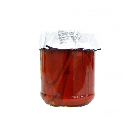 ZALEA Whole Piquillo Peppers Jar with 425 net grams - Conservalia