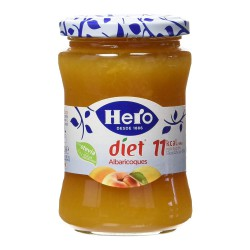 HERO Diet Apricot Jam Tray with 8 Jars of 280 net grams