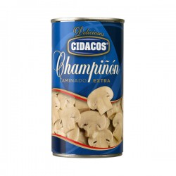 CIDACOS Laminated Mushroom 1/2 Tray with 12 Cans of 355 net grams - Conservalia