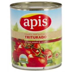 APIS Crushed Tomato One Pallet with 72 Trays with 12 Cans of 800 net grams - Conservalia